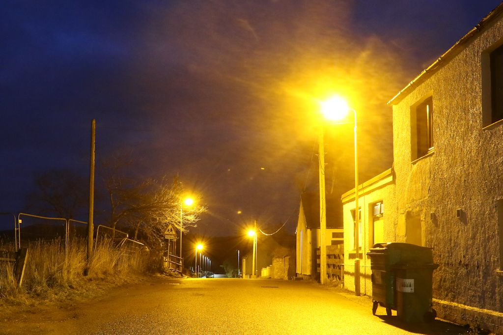 Replacement street lighting - Tomintoul