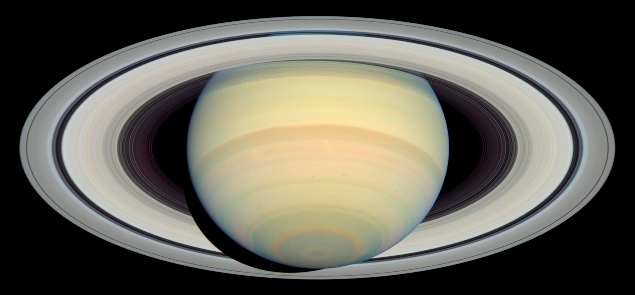 Saturn and it's rings